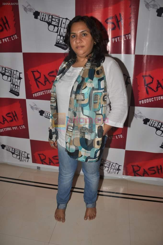 Aparna Hoshing at Promotion of Jeena Hai Toh Thok Daal in Mumbai on 11th July 2012