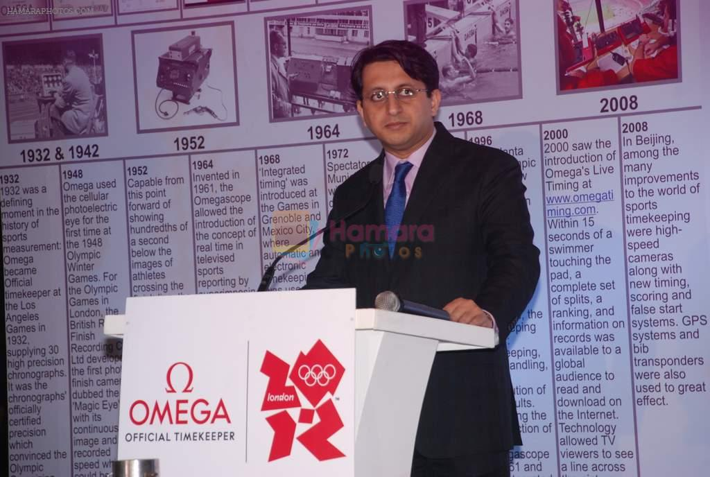 at Omega Olympics event in Grand Hyatt, Mumbai on 12th July 2012