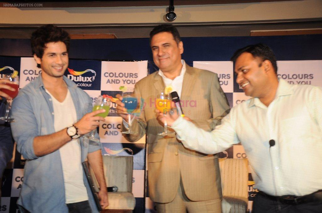 Shahid Kapoor, Boman Irani at Dulux colour confluence event in Mumbai on 1st Aug 2012
