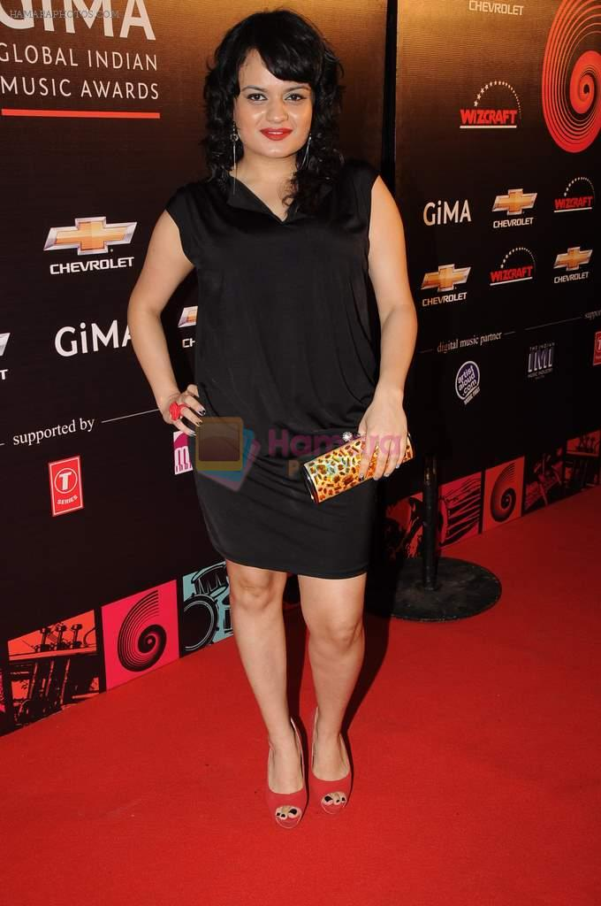 at Global Indian Music Awards Red Carpet in J W Marriott,Mumbai on 8th Aug 2012