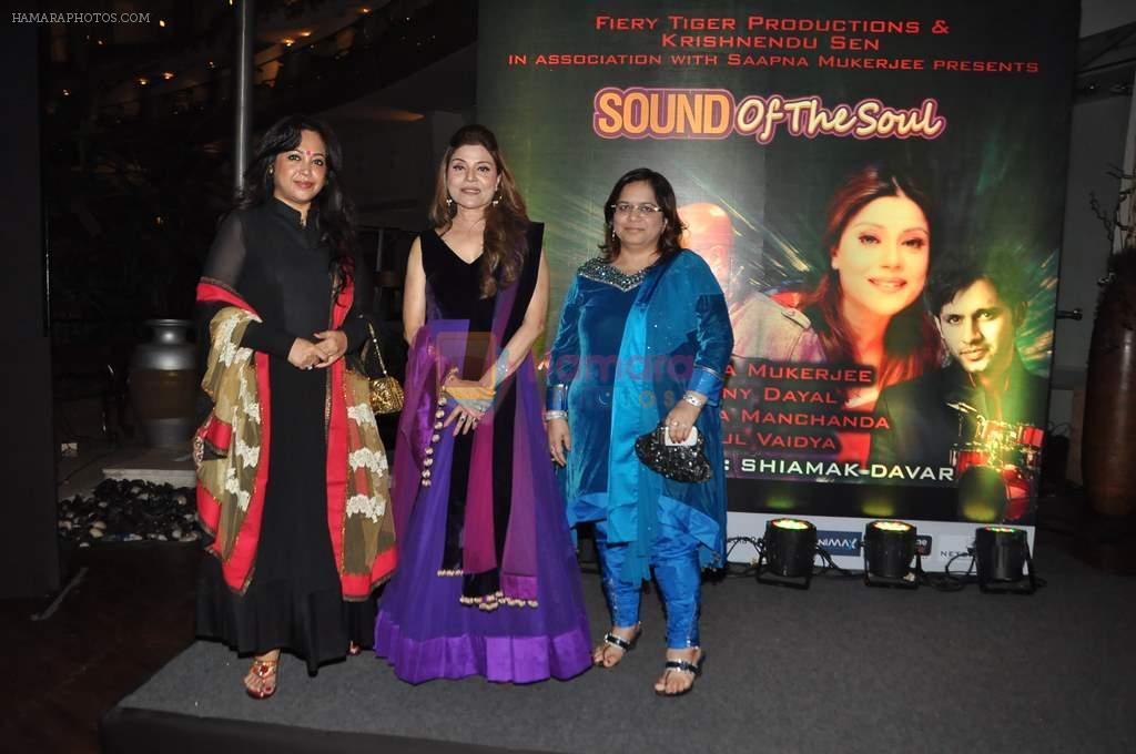 Sapna Mukherji at Sapna Mukherjis party for Sound of the Soul in Mabruk Restaurant, Mumbai on 10th Sept 2012