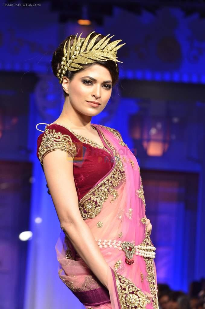 Model walk the ramp for Vikram Phadnis show at Aamby Valley India Bridal Fashion Week 2012 Day 5 in Mumbai on 16th Sept 2012
