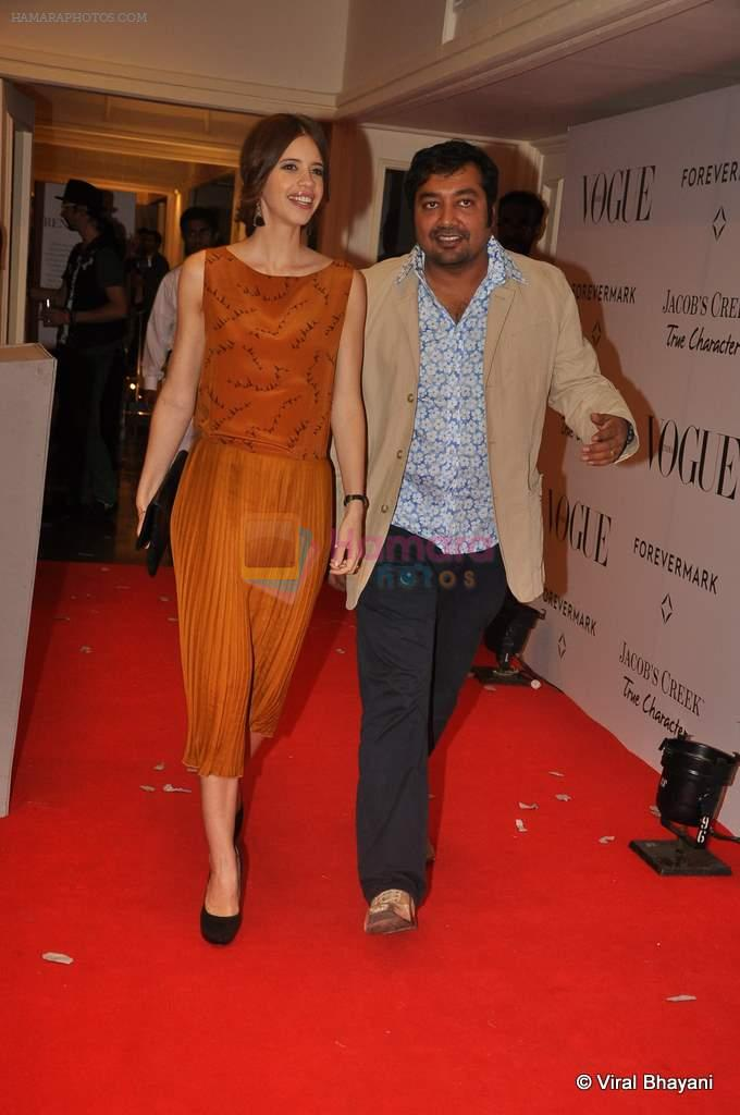 Kalki Koechlin at Vogue's 5th Anniversary bash in Trident, Mumbai on 22nd Sept 2012