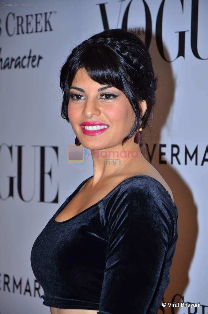 Jacqueline Fernandez at Vogue's 5th Anniversary bash in Trident, Mumbai on 22nd Sept 2012