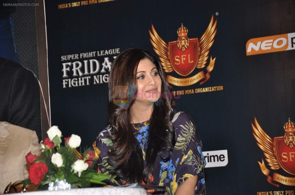 Shilpa Shetty at SFL press meet in Novotel, Mumbai on 23rd Sept 2012