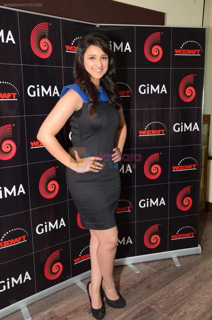 Parineeti Chopra at GIMA press meet on 25th Sept 2012