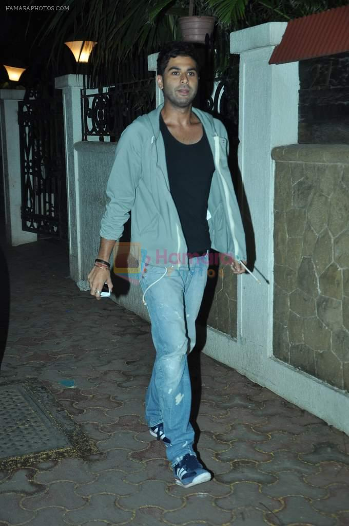 at Ranbir's birthday bash in Mumbai on 27th Sept 2012