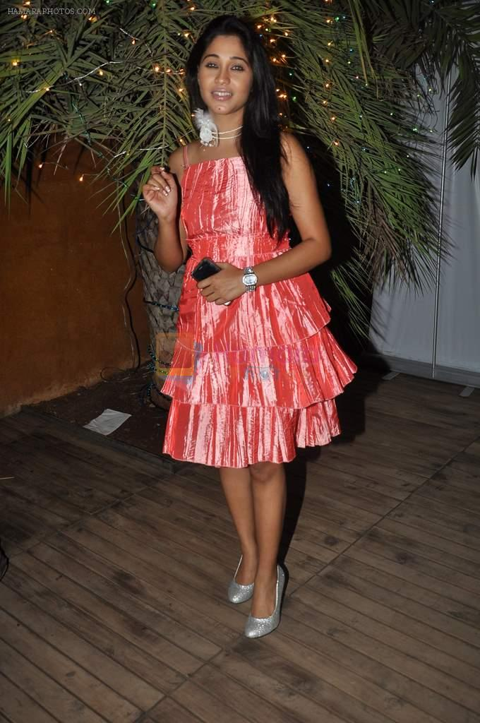 Aamrapali Gupta at the completion of 100 episodes in Afsar Bitiya on Zee TV by Raakesh Paswan in Sky Lounge, Juhu, Mumbai on 28th Sept 2012
