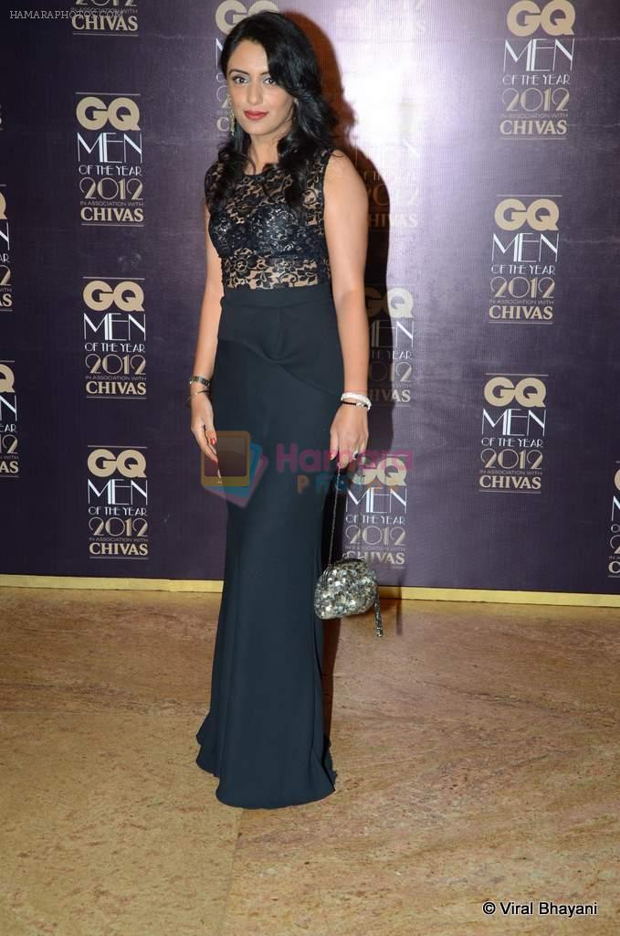 Parveen Dusanj at GQ Men of the Year 2012 in Mumbai on 30th Sept 2012