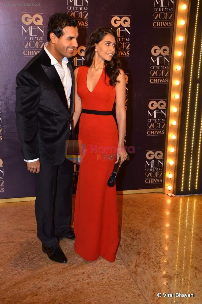 John Abraham at GQ Men of the Year 2012 in Mumbai on 30th Sept 2012
