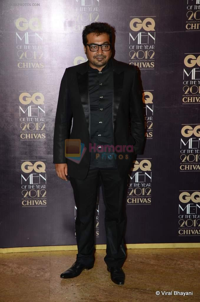 Anurag Kashyap at GQ Men of the Year 2012 in Mumbai on 30th Sept 2012