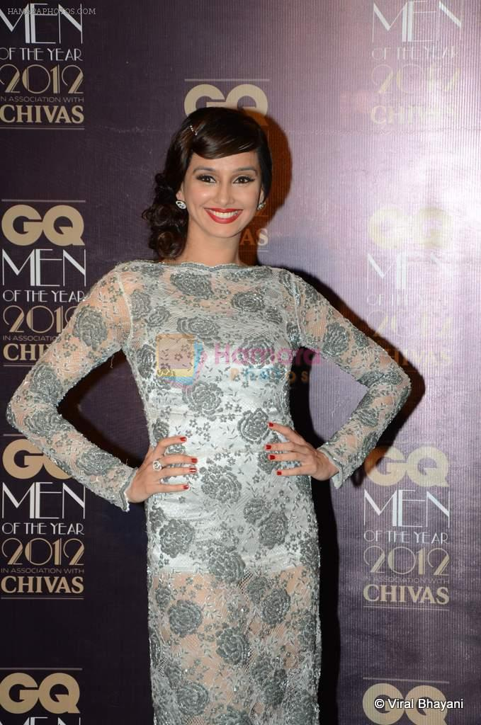 Shibani Dandekar at GQ Men of the Year 2012 in Mumbai on 30th Sept 2012