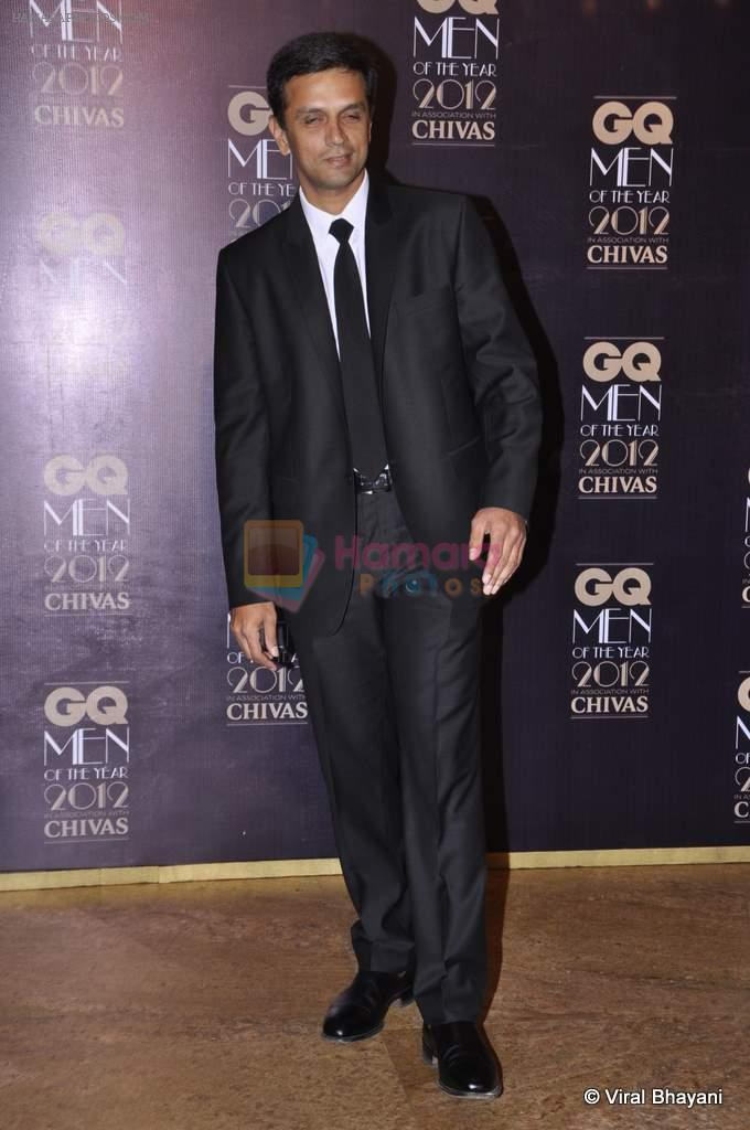 Rahul Dravid at GQ Men of the Year 2012 in Mumbai on 30th Sept 2012,1