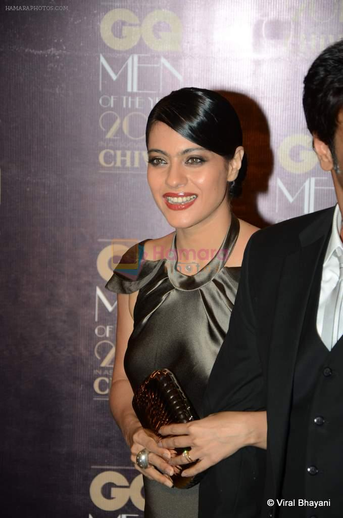 Kajol at GQ Men of the Year 2012 in Mumbai on 30th Sept 2012