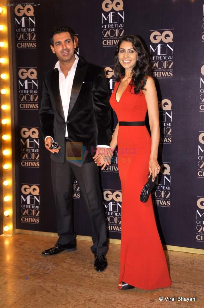 John Abraham at GQ Men of the Year 2012 in Mumbai on 30th Sept 2012,1