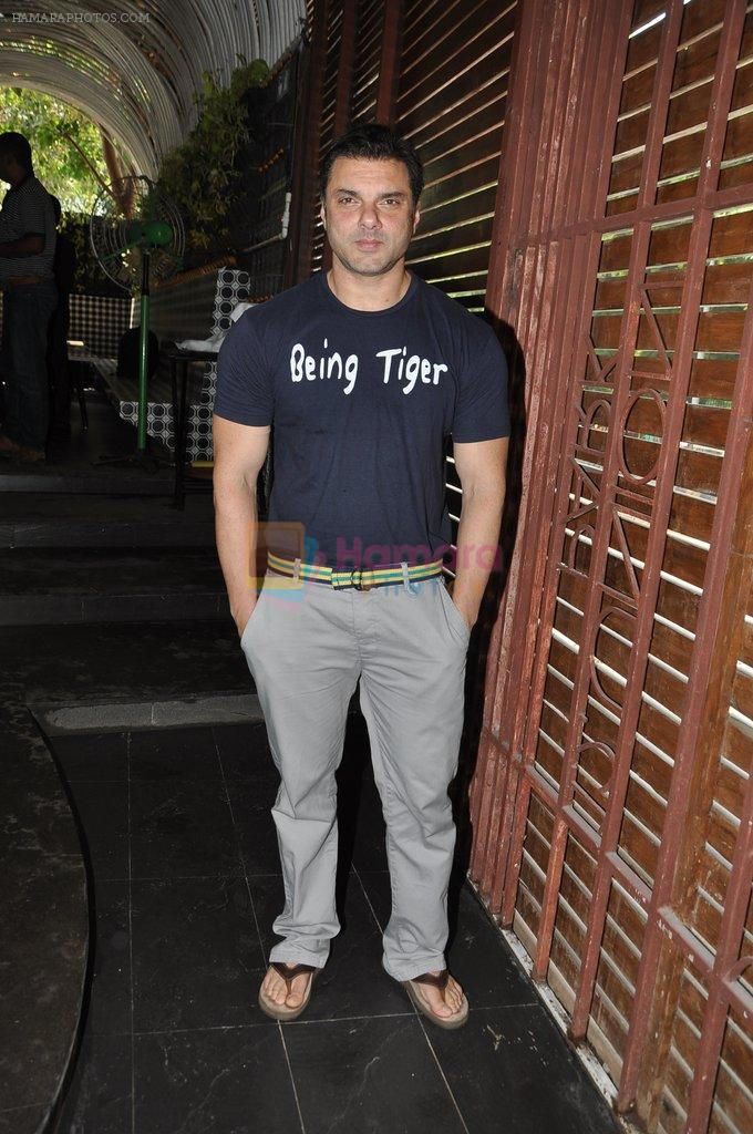 Sohail Khan at the Launch of Shatranj Napoli and Polpo Cafe & Bar in Bandra, Mumbai on 30th Sept 2012