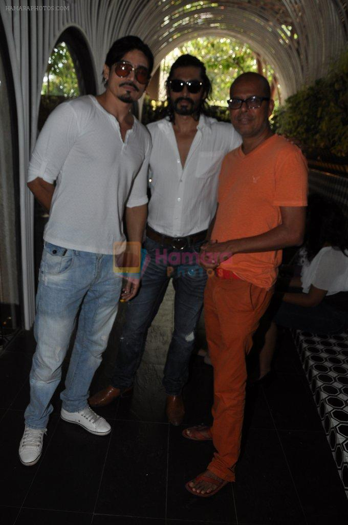 Shawar Ali at the Launch of Shatranj Napoli and Polpo Cafe & Bar in Bandra, Mumbai on 30th Sept 2012