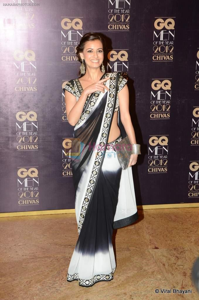 Dia Mirza at GQ Men of the Year 2012 in Mumbai on 30th Sept 2012