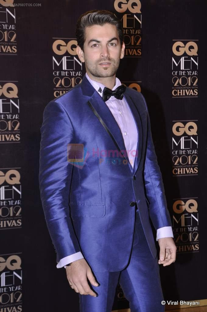 Neil Mukesh at GQ Men of the Year 2012 in Mumbai on 30th Sept 2012,1