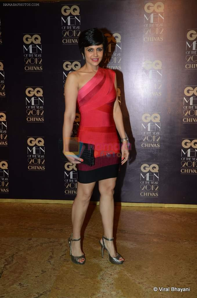 Mandira Bedi at GQ Men of the Year 2012 in Mumbai on 30th Sept 2012