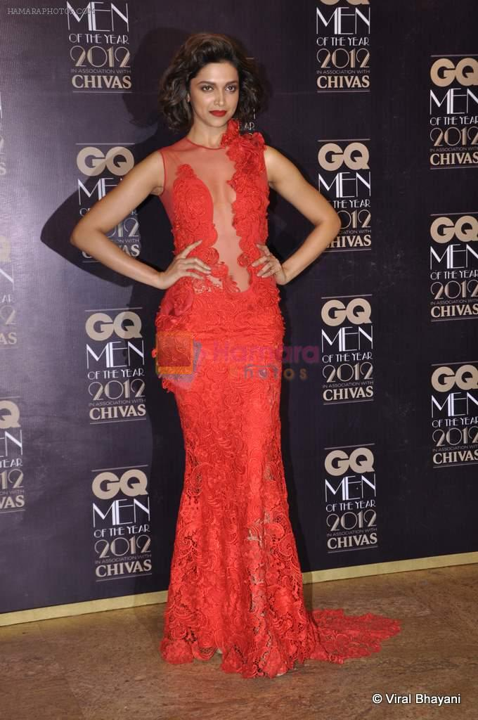 Deepika Padukone at GQ Men of the Year 2012 in Mumbai on 30th Sept 2012,1