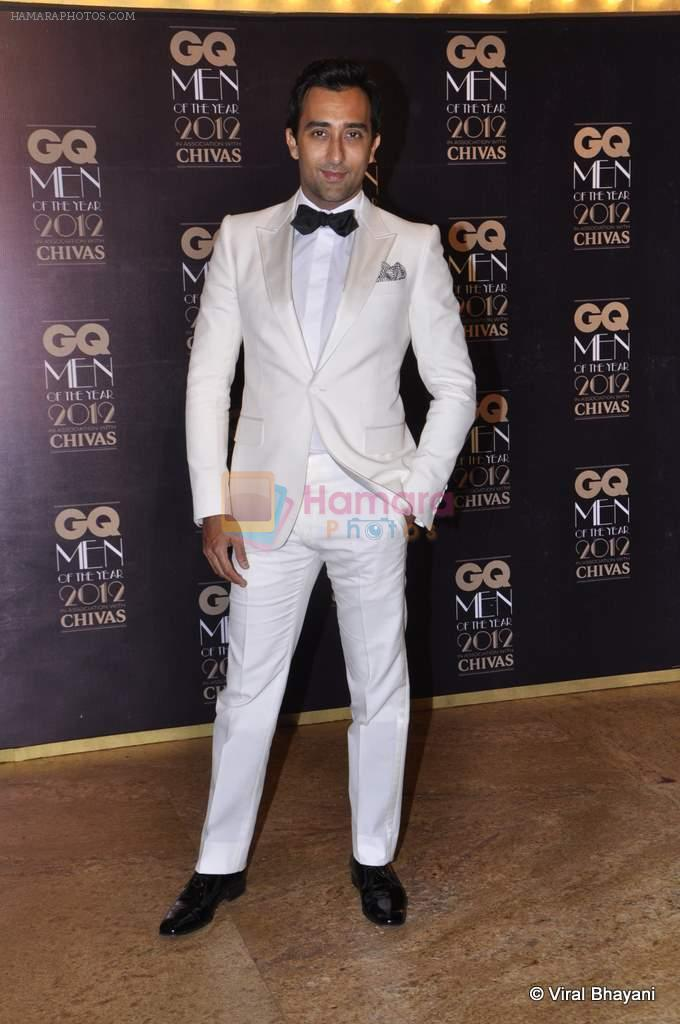 Rahul Khanna at GQ Men of the Year 2012 in Mumbai on 30th Sept 2012,1