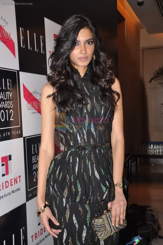 Diana Penty at Elle beauty awards 2012 in Mumbai on 1st Oct 2012