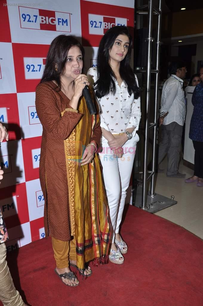 Ragini Khanna and Kamini Khanna at Big FM in Mumbai on 1st Oct 2012,1