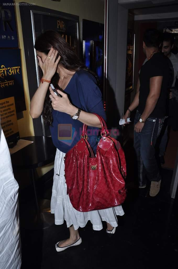 Shamita Shetty snapped at PVR on 1st Oct 2012