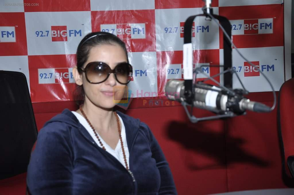 Manisha Koirala at Big FM in Mumbai on 1st Oct 2012