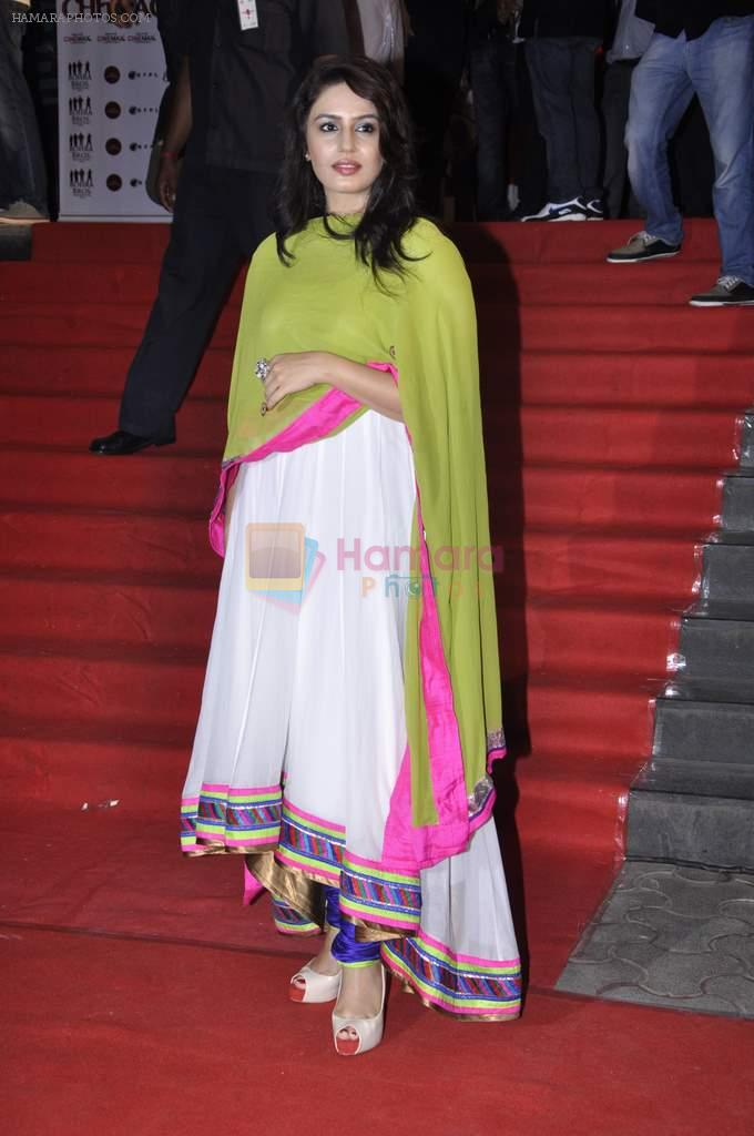 Huma Qureshi at the Premiere of Chittagong in Mumbai on 3rd Oct 2012