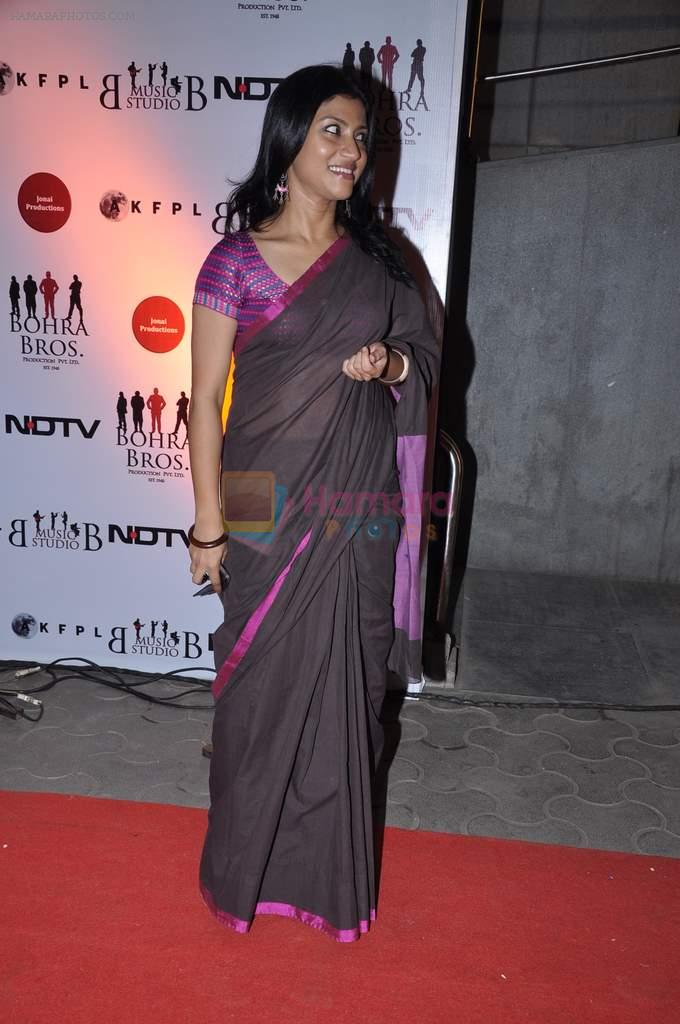 Konkana Sen at the Premiere of Chittagong in Mumbai on 3rd Oct 2012