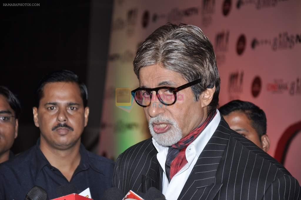 Amitabh Bachchan at the Premiere of Chittagong in Mumbai on 3rd Oct 2012