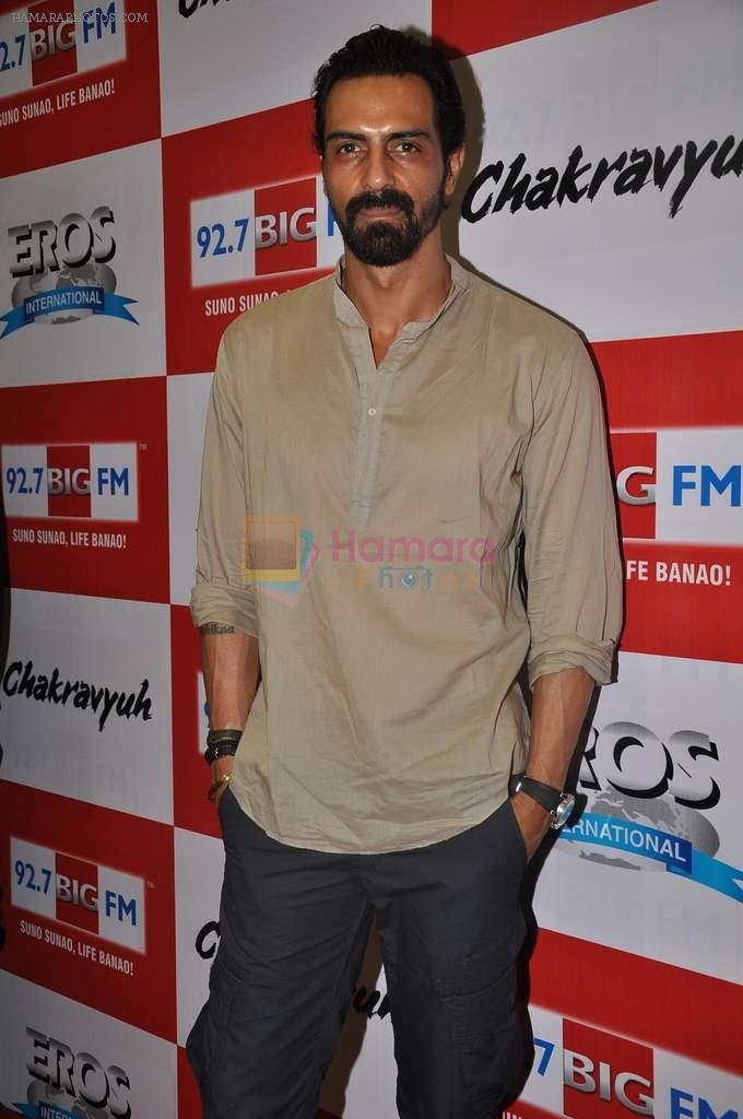 Arjun Rampal at the Audio release of Chakravyuh on 92.7 BIG FM on 3rd Oct 2012