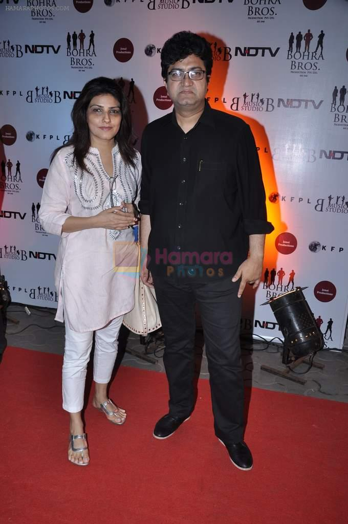 Prasoon Joshi at the Premiere of Chittagong in Mumbai on 3rd Oct 2012