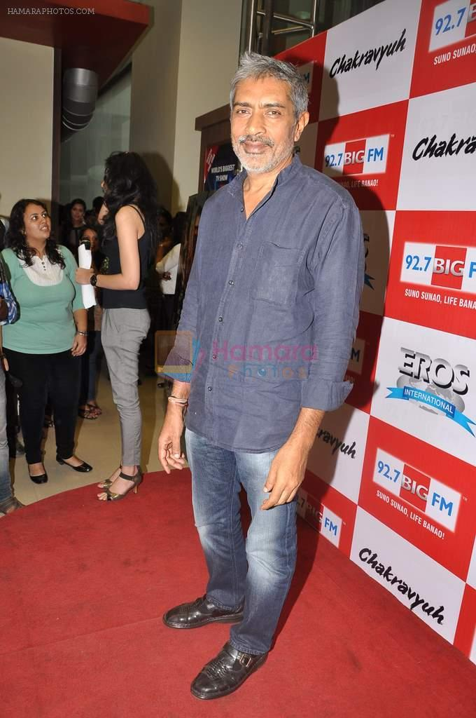 Prakash Jha at the Audio release of Chakravyuh on 92.7 BIG FM on 3rd oct 2012