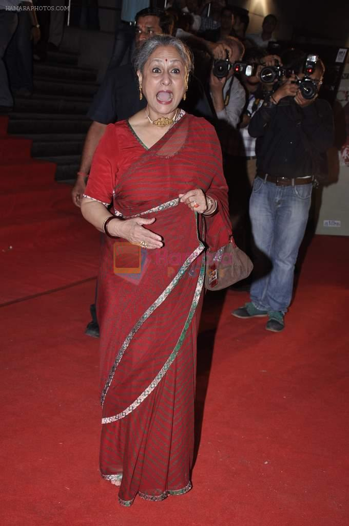 Jaya Bachchan at the Premiere of Chittagong in Mumbai on 3rd Oct 2012