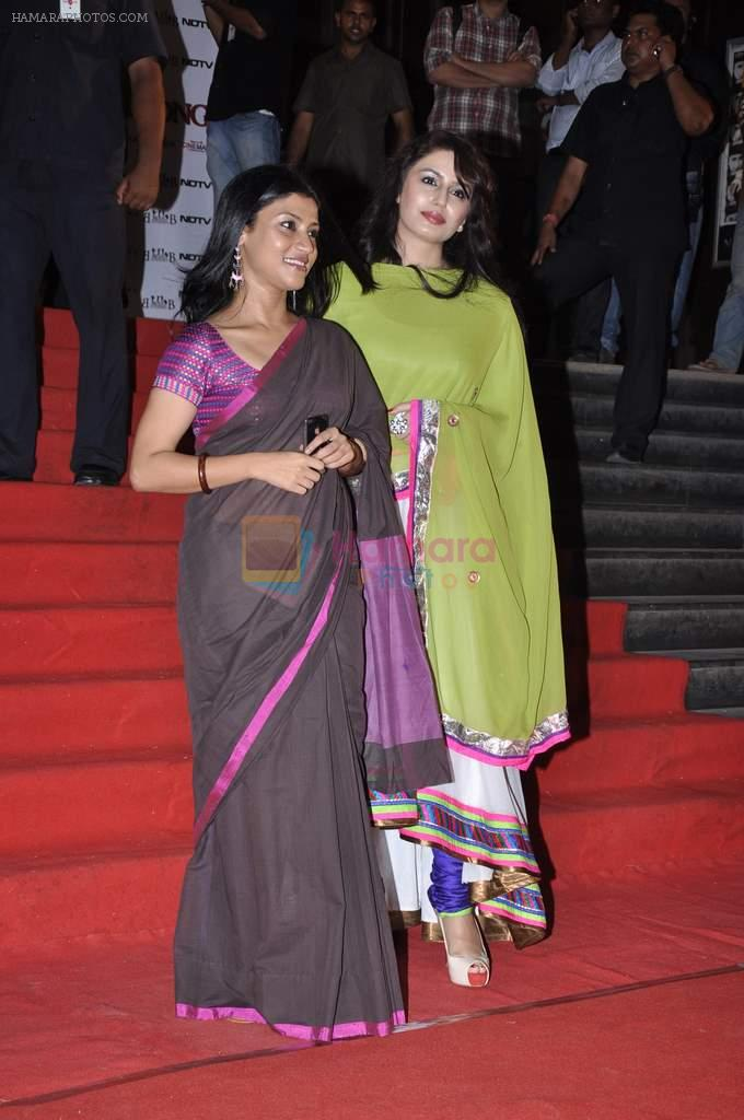 Konkana Sen, Huma Qureshi at the Premiere of Chittagong in Mumbai on 3rd Oct 2012