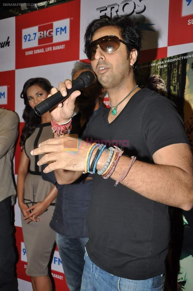 Salim Merchant at the Audio release of Chakravyuh on 92.7 BIG FM on 3rd oct 2012