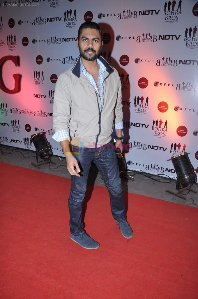 Gaurav Chopra at the Premiere of Chittagong in Mumbai on 3rd Oct 2012