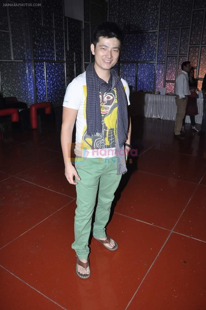 Meiyang Chang at the Premiere of Chittagong in Mumbai on 3rd Oct 2012