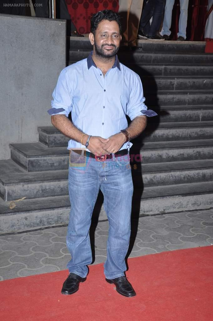 Resul Pookutty at the Premiere of Chittagong in Mumbai on 3rd Oct 2012