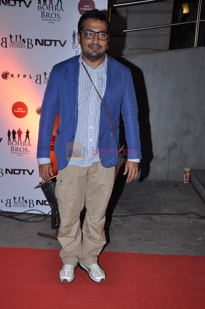 Anurag Kashyap at the Premiere of Chittagong in Mumbai on 3rd Oct 2012