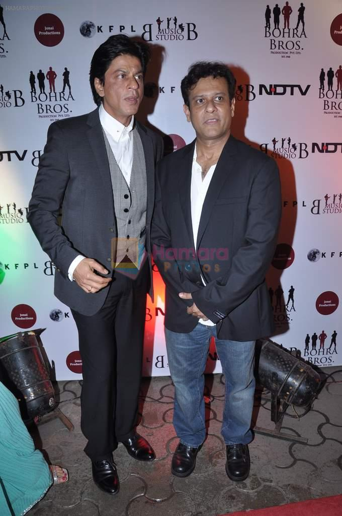 Shahrukh Khan, Bedabrata Pain at the Premiere of Chittagong in Mumbai on 3rd Oct 2012