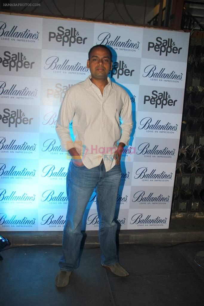 Director Vikranth Pawar at the Ballentine's Salt N Pepper Play Preview Party