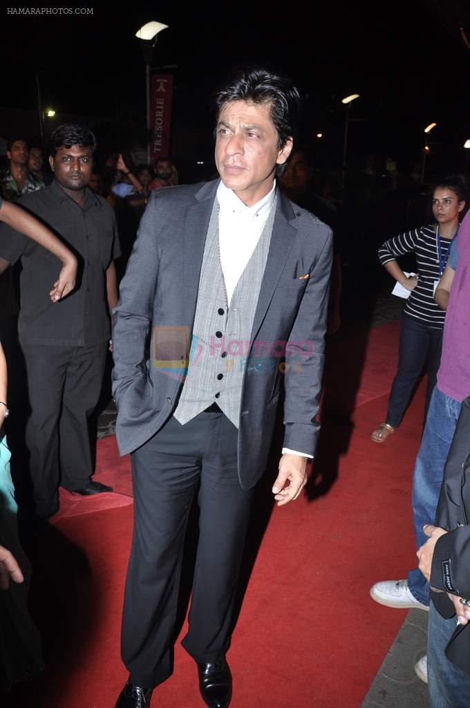 Shahrukh Khan at the Premiere of Chittagong in Mumbai on 3rd Oct 2012
