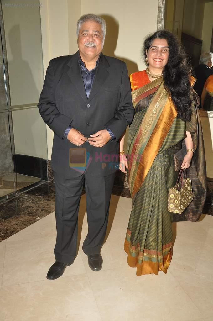 Satish Shah at Anu and Sashi Ranjan's wedding anniversary in J W Marriott on 4th Oct 2012