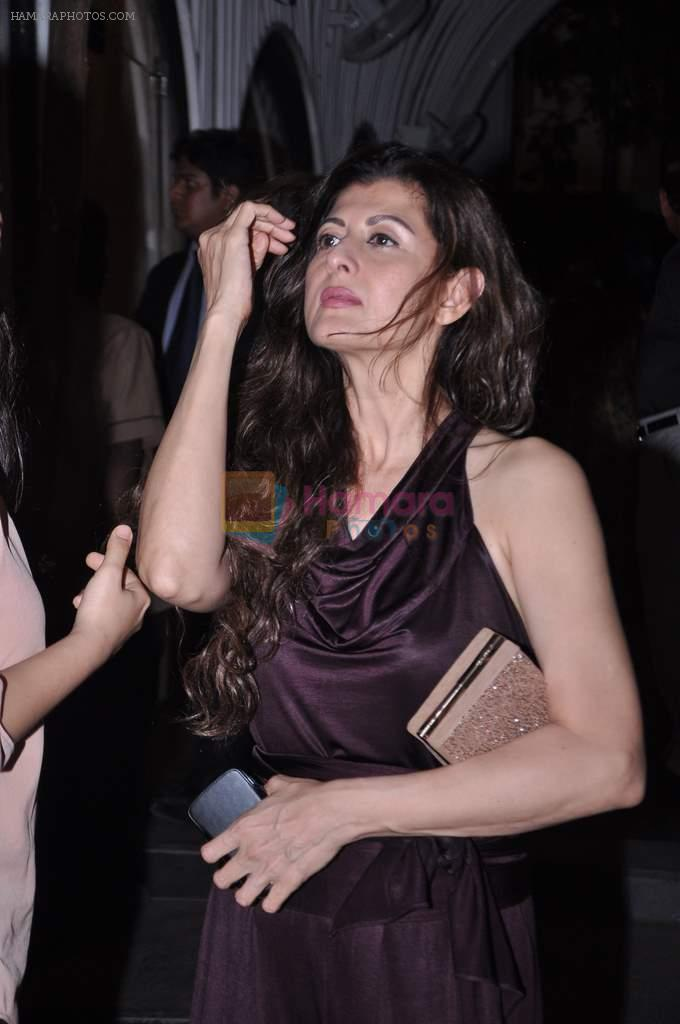 Sangeeta Bijalni snapped at Anita Dongre's bday bash in Bandra on 4th Oct 2012