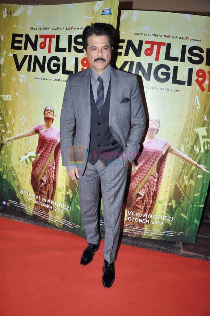 Anil Kapoor at English Vinglish premiere in PVR, Goregaon on 5th Oct 2012