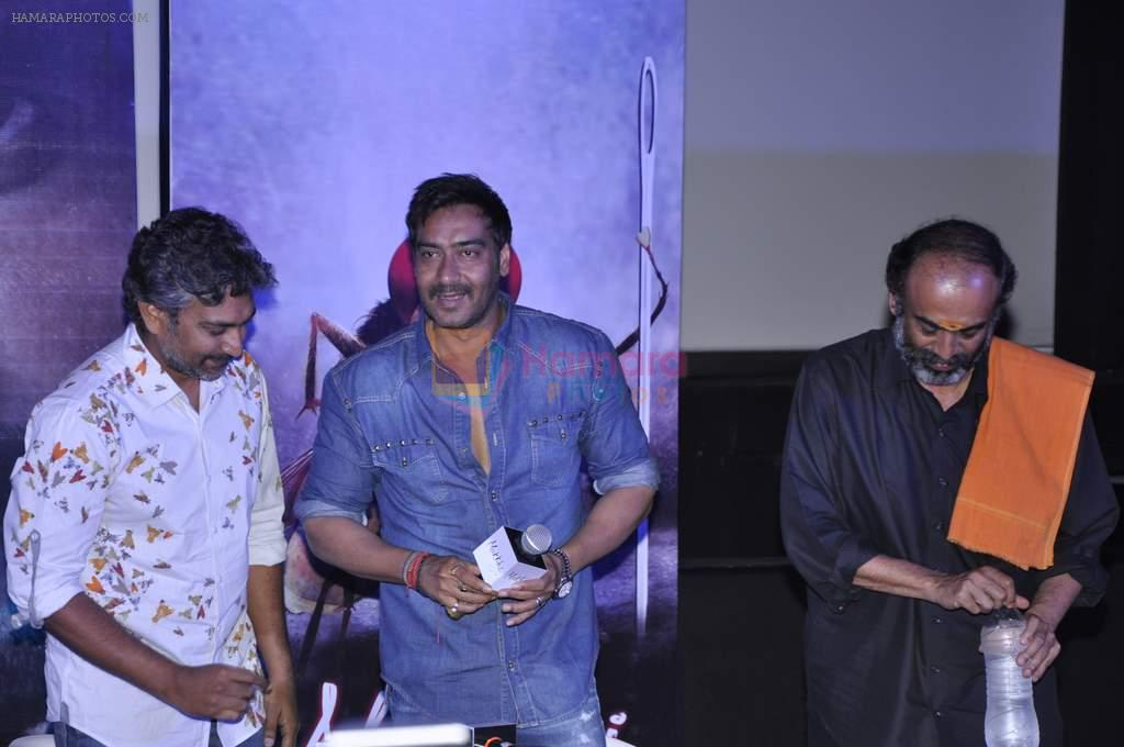 Ajay Devgan at Makhi promotions in PVR, Mumbai on 5th Oct 2012